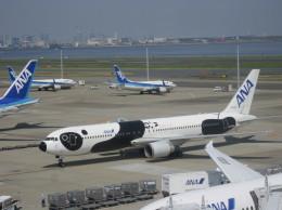 どっかの人さんが、羽田空港で撮影した全日空 767-381/ERの航空フォト(飛行機 写真・画像)