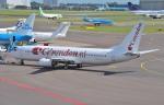 IL-18さんが、アムステルダム・スキポール国際空港で撮影したコレンドン・ダッチ・エアラインズ 737-8K2の航空フォト(写真)