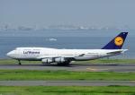 じーく。さんが、羽田空港で撮影したルフトハンザドイツ航空 747-430の航空フォト(写真)