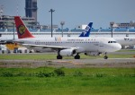 mojioさんが、成田国際空港で撮影したトランスアジア航空 A320-232の航空フォト(飛行機 写真・画像)