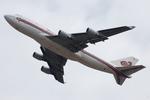 Chofu Spotter Ariaさんが、成田国際空港で撮影したタイ国際航空 747-4D7の航空フォト(飛行機 写真・画像)