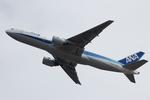 Chofu Spotter Ariaさんが、成田国際空港で撮影した全日空 777-281/ERの航空フォト(飛行機 写真・画像)