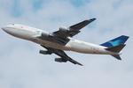 Chofu Spotter Ariaさんが、成田国際空港で撮影したガルーダ・インドネシア航空 747-4U3の航空フォト(飛行機 写真・画像)