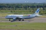 しんさんが、新千歳空港で撮影したバニラエア A320-211の航空フォト(写真)