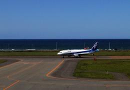たぁさんが、稚内空港で撮影した全日空 A320-211の航空フォト(飛行機 写真・画像)