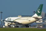 パンダさんが、成田国際空港で撮影したパキスタン国際航空 A310-325/ETの航空フォト(写真)