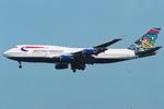 SKYLINEさんが、成田国際空港で撮影したブリティッシュ・エアウェイズ 747-436の航空フォト(写真)