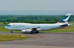 Dojalanaさんが、新千歳空港で撮影したキャセイパシフィック航空 747-467の航空フォト(飛行機 写真・画像)