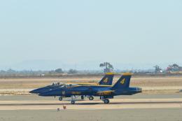 こずぃろうさんが、ミラマー海兵隊航空ステーション で撮影したアメリカ海軍 F/A-18A Hornetの航空フォト(飛行機 写真・画像)