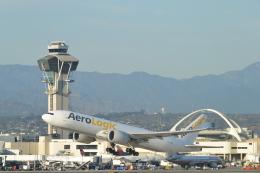 こずぃろうさんが、ロサンゼルス国際空港で撮影したアエロ・ロジック 777-FZNの航空フォト(飛行機 写真・画像)