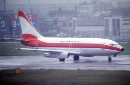 チャーリーマイクさんが、羽田空港で撮影した日本トランスオーシャン航空 737-2Q3/Advの航空フォト(飛行機 写真・画像)