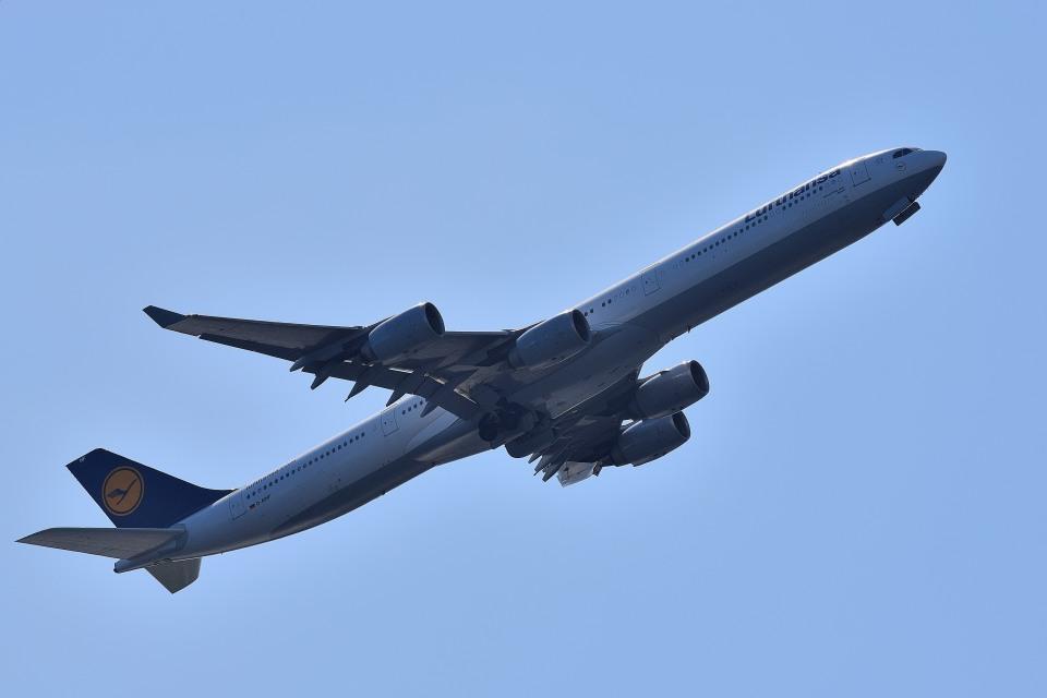tsubasa0624さんのルフトハンザドイツ航空 Airbus A340-600 (D-AIHF) 航空フォト
