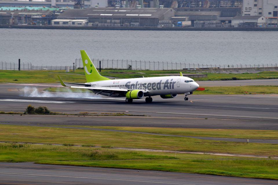 tsubasa0624さんのソラシド エア Boeing 737-800 (JA808X) 航空フォト