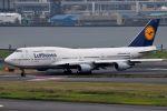 tsubasa0624さんが、羽田空港で撮影したルフトハンザドイツ航空 747-430の航空フォト(写真)