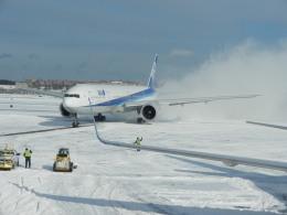 あお♪さんが、ジョン・F・ケネディ国際空港で撮影した全日空 777-381/ERの航空フォト(飛行機 写真・画像)