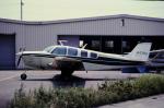 チャーリーマイクさんが、ホンダエアポートで撮影した日本個人所有 A36 Bonanza 36の航空フォト(飛行機 写真・画像)