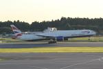 ANA744Foreverさんが、成田国際空港で撮影したブリティッシュ・エアウェイズ 777-36N/ERの航空フォト(写真)