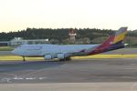 ANA744Foreverさんが、成田国際空港で撮影したアシアナ航空 747-48EMの航空フォト(写真)