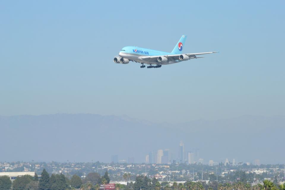 こずぃろうさんの大韓航空 Airbus A380 (HL7619) 航空フォト