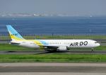 じーく。さんが、羽田空港で撮影したAIR DO 767-381の航空フォト(飛行機 写真・画像)