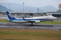 ぽんさんが、高松空港で撮影した全日空 737-881の航空フォト(飛行機 写真・画像)
