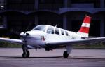 チャーリーマイクさんが、長崎空港で撮影したJALフライトアカデミー A36 Bonanza 36の航空フォト(飛行機 写真・画像)
