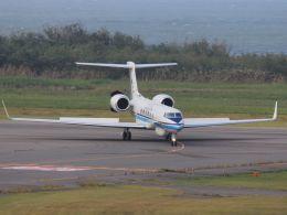 MIL26Tさんが、新潟空港で撮影した海上保安庁 G-V Gulfstream Vの航空フォト(飛行機 写真・画像)