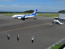 とろーるさんが、大島空港で撮影した全日空 737-781の航空フォト(飛行機 写真・画像)