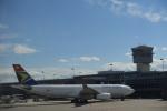m-takagiさんが、ワシントン・ダレス国際空港で撮影した南アフリカ航空 A330-243の航空フォト(飛行機 写真・画像)