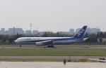 TAOTAOさんが、青島流亭国際空港で撮影した全日空 767-381/ERの航空フォト(写真)