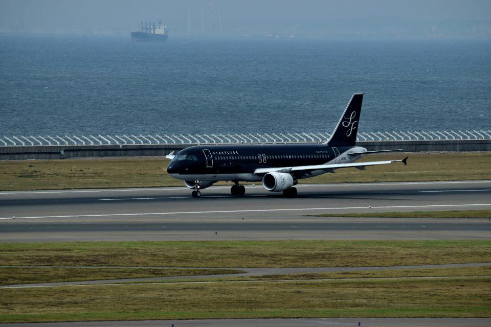 tsubasa0624さんのスターフライヤー Airbus A320 (JA08MC) 航空フォト