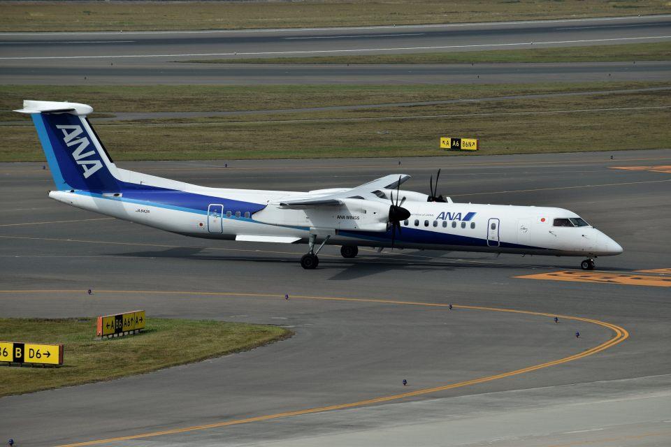 tsubasa0624さんのANAウイングス Bombardier DHC-8-400 (JA842A) 航空フォト