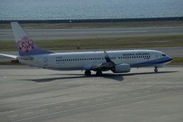 tsubasa0624さんが、中部国際空港で撮影したチャイナエアライン 737-8Q8の航空フォト(飛行機 写真・画像)