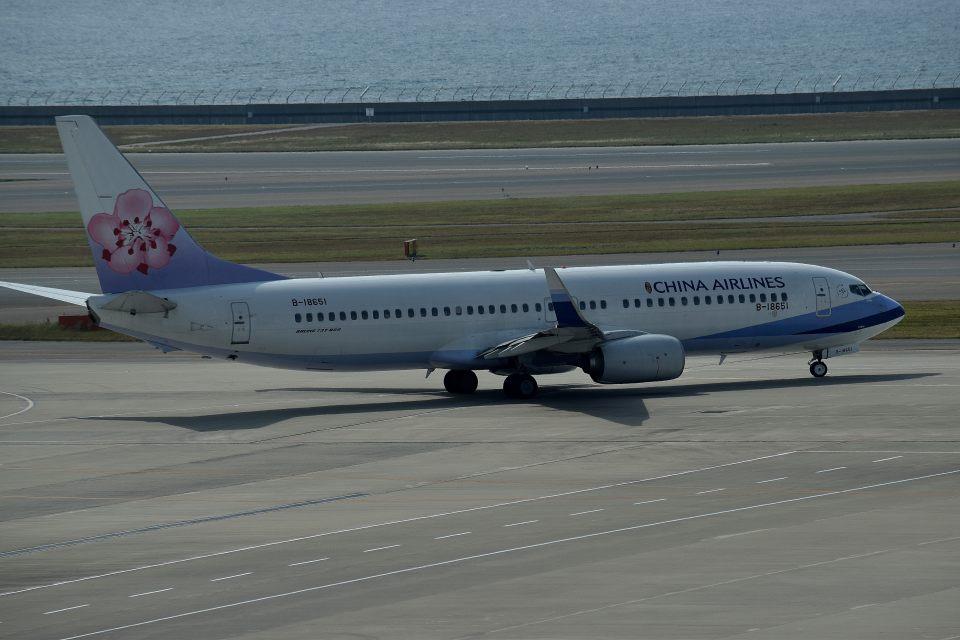 tsubasa0624さんのチャイナエアライン Boeing 737-800 (B-18651) 航空フォト
