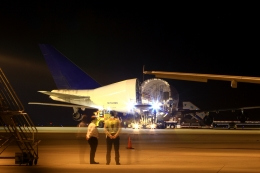 RUNDY!さんが、中部国際空港で撮影したボーイング 747-4J6(LCF) Dreamlifterの航空フォト(飛行機 写真・画像)