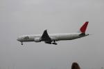 ふぁんたんさんが、フランクフルト国際空港で撮影した日本航空 777-346/ERの航空フォト(写真)