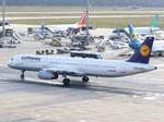 スカイマンタさんが、フランクフルト国際空港で撮影したルフトハンザドイツ航空 A321-131の航空フォト(飛行機 写真・画像)