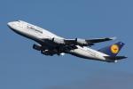 おにYさんが、羽田空港で撮影したルフトハンザドイツ航空 747-430の航空フォト(写真)