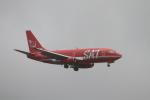 Takashi neon-pa2Nさんが、新千歳空港で撮影したサハリン航空 737-2J8/Advの航空フォト(写真)