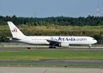 じーく。さんが、成田国際空港で撮影したジェット・アジア・エアウェイズ 767-336/ERの航空フォト(飛行機 写真・画像)