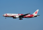 じーく。さんが、成田国際空港で撮影した中国国際航空 777-2J6の航空フォト(飛行機 写真・画像)
