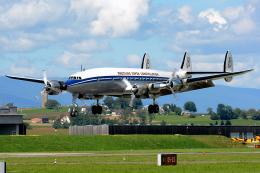 Tomo-Papaさんが、ミリテール・ド・ペイエルヌ飛行場で撮影したスーパーコンステレーション飛行協会 C-121C Super Constellation (L-1049F)の航空フォト(飛行機 写真・画像)