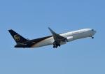 じーく。さんが、成田国際空港で撮影したUPS航空 767-34AF/ERの航空フォト(飛行機 写真・画像)