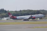 ANA744Foreverさんが、成田国際空港で撮影したヴァージン・アトランティック航空 A340-642の航空フォト(飛行機 写真・画像)
