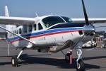 tsubasa0624さんが、調布飛行場で撮影した国土交通省 国土地理院 208B Grand Caravanの航空フォト(写真)