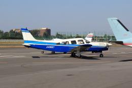 たまさんが、調布飛行場で撮影した日本個人所有 PA-32R-301T Turbo Saratoga SPの航空フォト(飛行機 写真・画像)