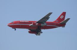 mitudon321さんが、仁川国際空港で撮影したオーロラ 737-2J8/Advの航空フォト(飛行機 写真・画像)