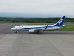 A319neoさんが、中標津空港で撮影したエアーニッポン 737-881の航空フォト(写真)