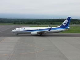 A319neoさんが、中標津空港で撮影したエアーニッポン 737-881の航空フォト(飛行機 写真・画像)