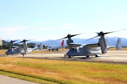 yuuka no kazeさんが、南紀白浜空港で撮影したアメリカ海兵隊 MV-22Bの航空フォト(飛行機 写真・画像)